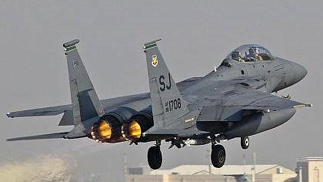 F-15 Flyover